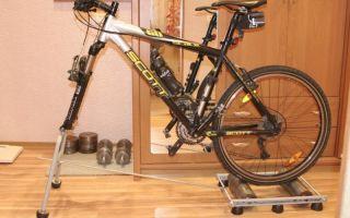 Как сделать велотренажер из велосипеда? — всё о велоспорте