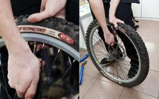 Как поменять покрышку на велосипеде? — всё о велоспорте