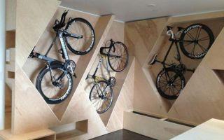 Где хранить велосипед в квартире — всё о велоспорте