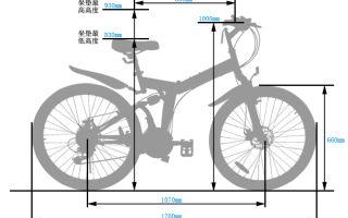 Габариты велосипеда (габаритные размеры) — всё о велоспорте