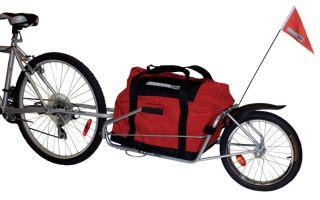 Виды прицепов для велосипеда — всё о велоспорте
