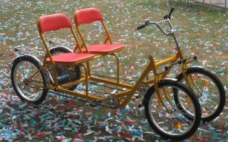 Четырехколесный взрослый велосипед — всё о велоспорте