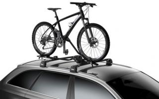 Велосипедный багажник thule для машины — всё о велоспорте