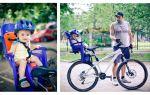 Выбираем детское велокресло — всё о велоспорте