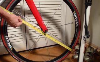 Как измерить диаметр колеса велосипеда — всё о велоспорте