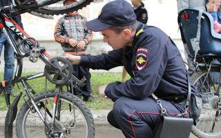 Проверка велосипеда на угон — всё о велоспорте