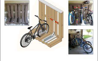 Какие бывают гаражи для велосипеда и как их сделать? — всё о велоспорте