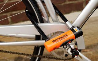 Какие велосипедные замки лучше выбрать? — всё о велоспорте