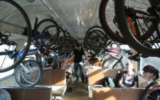 Можно ли в электричку с велосипедом — всё о велоспорте