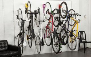 Разновидности креплений велосипеда на стену и советы по их выбору — всё о велоспорте