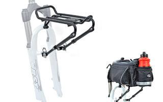 Каким должен быть багажник для велосипеда? — всё о велоспорте