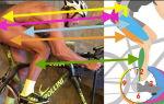 Как накачать мышцы при езде на велосипеде — всё о велоспорте